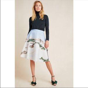 Corey Lynn Calter Winter Wonderland Midi Skirt